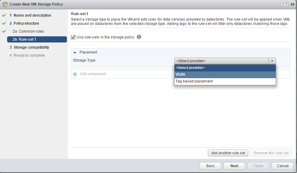 How to: Creating VM Storage Policies in vSAN