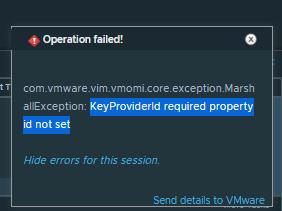KMS Error